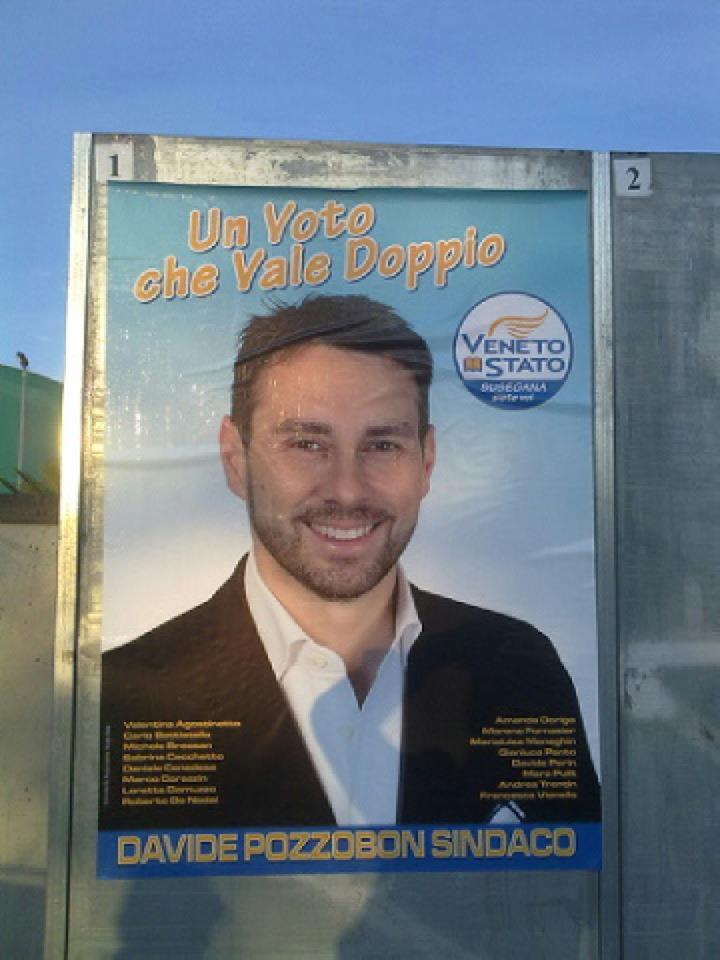 Maroni e cocaina: l'opinione di Davide Pozzobon, candidato sindaco a Susegana per Susegana Siete Voi-Veneto Stato