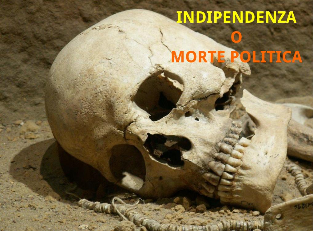 INDIPENDENZA O MORTE POLITICA