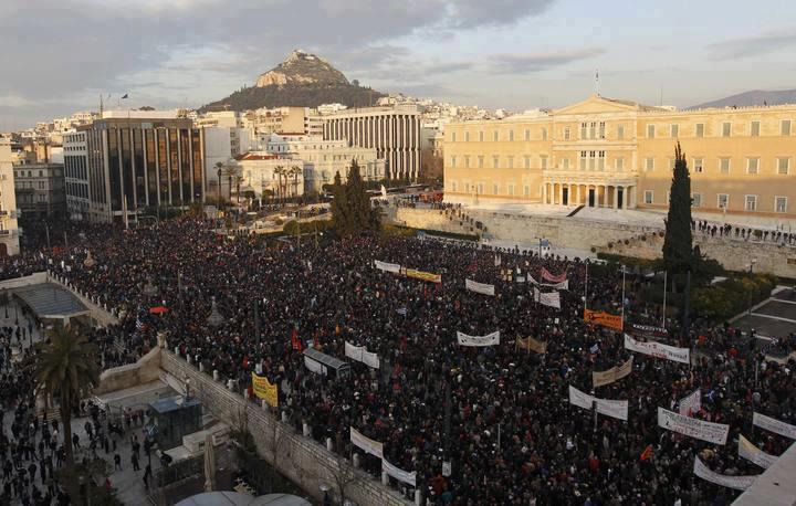 LA SITUAZIONE IN GRECIA