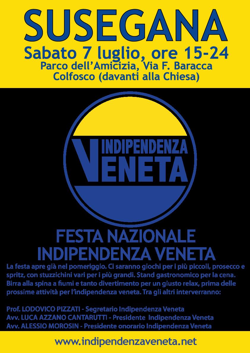INDIPENDENZA VENETA FESTA NAZIONALE