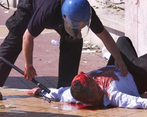 CARABINIERI E POLIZIA ITALIANI: TORTURA E PESTAGGI
