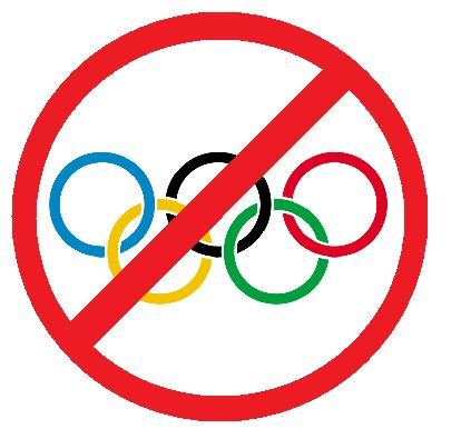NO ALLE OLIMPIADI, NO ALL'AGONISMO