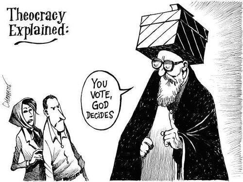 CON LE TEOCRAZIE NON SI TRATTA: GUERRA ALL'IRAN