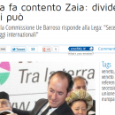 ZAIA ALLE CORDE, OBBLIGATO DA INDIPENDENZA VENETA