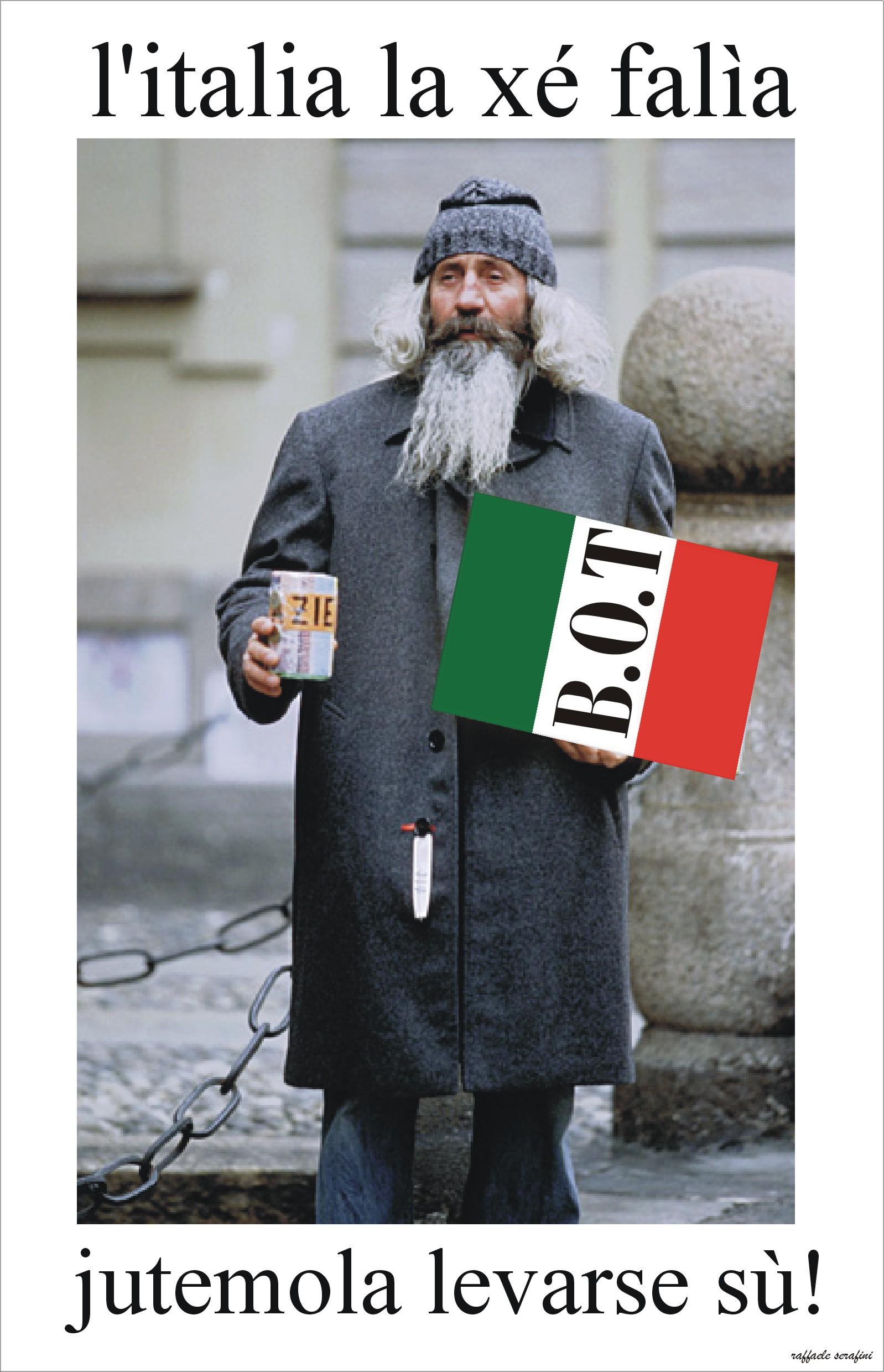L'ITALIA TRASCINA L'EURO NEL BARATRO