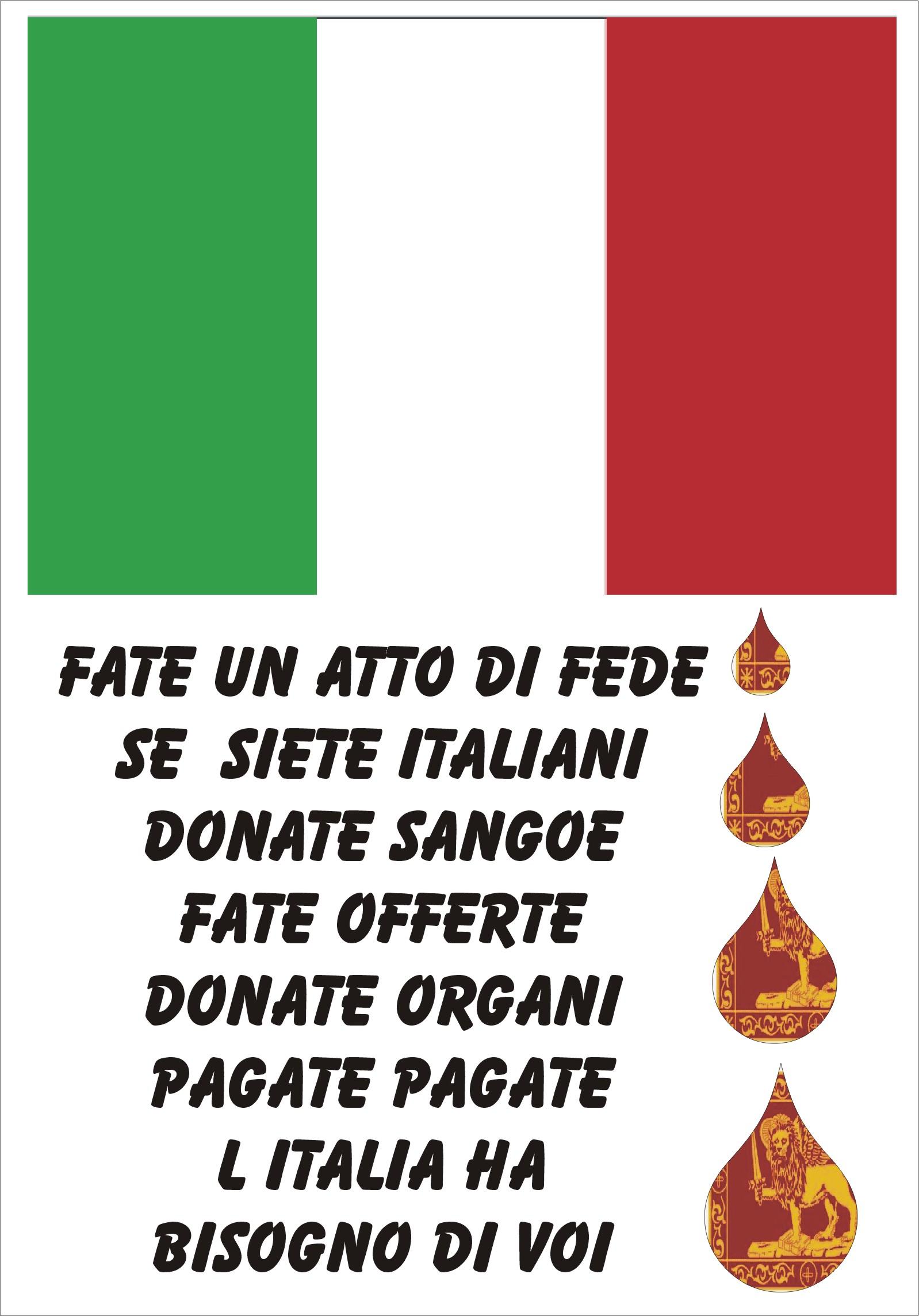 INDIPENDENZA PER NON PESARE SULLE SPALLE DELL'ITALIA