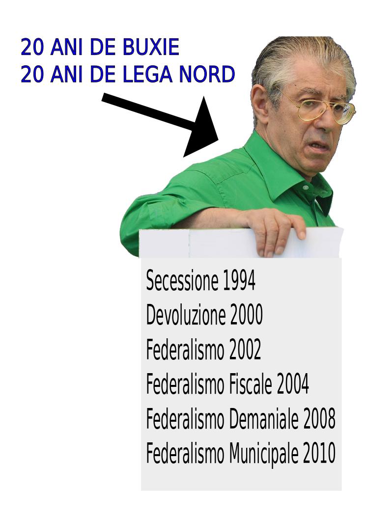 COMUNQUE VADA NON VOTATE LEGA NORD