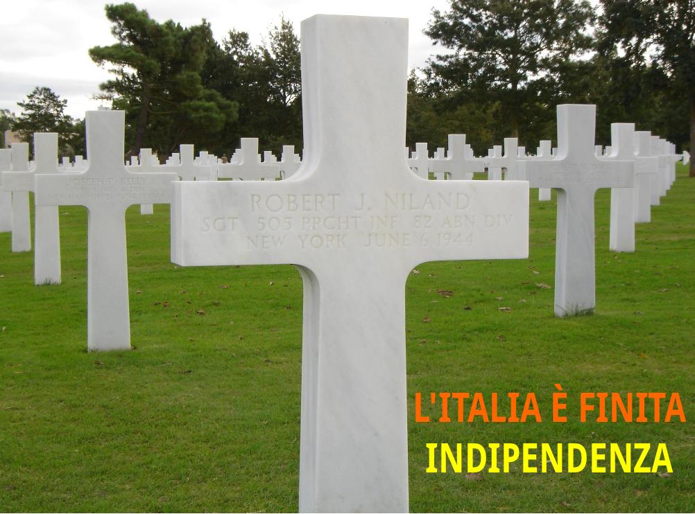 INDIPENDENTISMI E NAZIONALISMO ITALIANO
