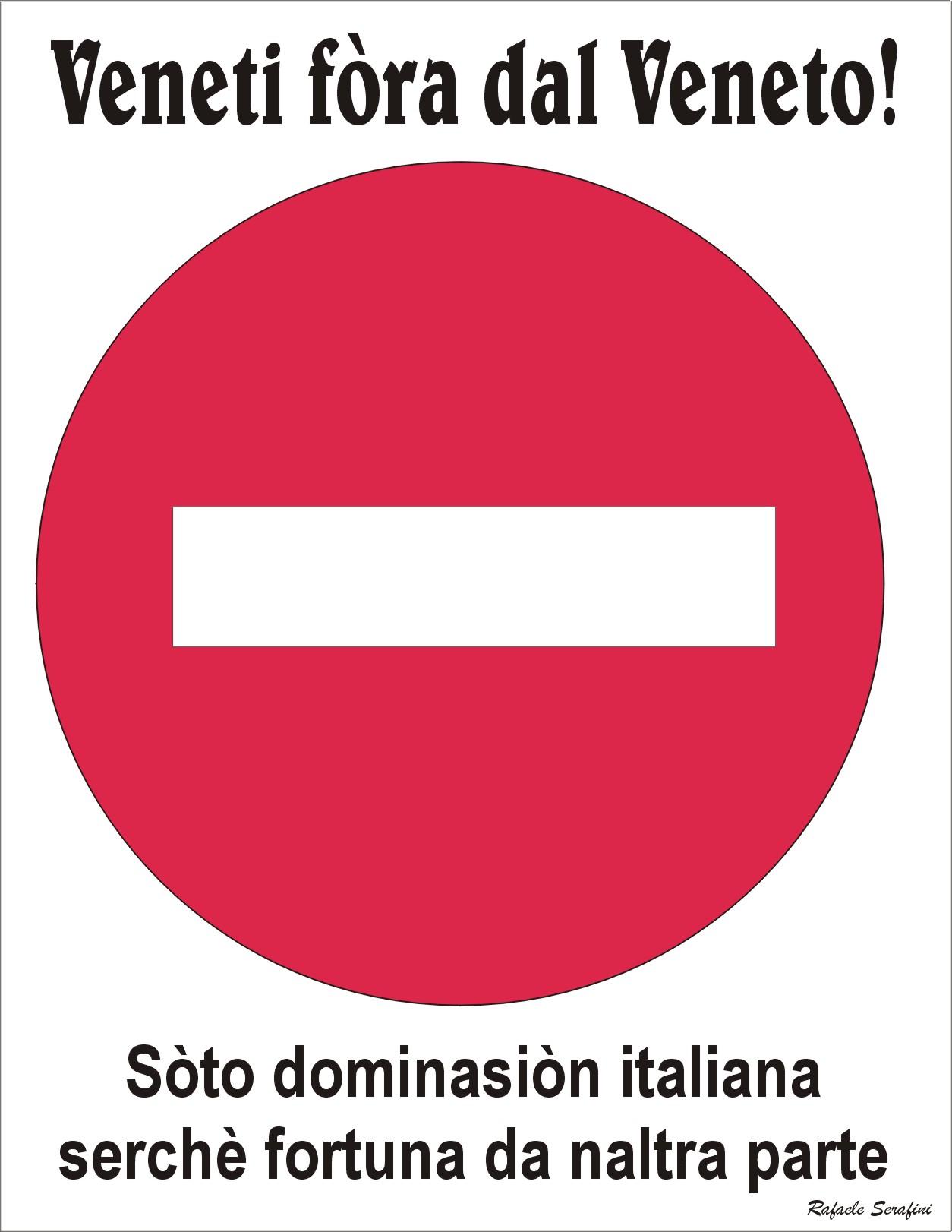 I CINESI SCAPPANO DALL'ITALIA, NOI VENETI COMBATTIAMO