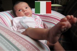 italiano bambino made in italy monolinguismo