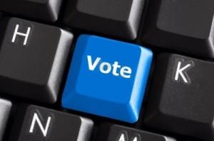 vote button tasto vota internet democracy democrazia diretta direct