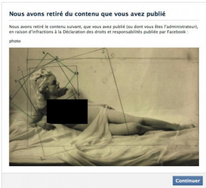 censorship facebook