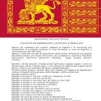 RIAPPROPRIAMOCI DELLA MORALITÀ: VIA L'ITALIA DAL VENETO!