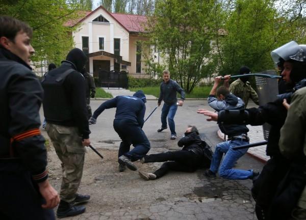 kiev brutality